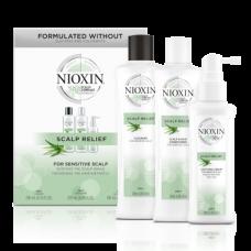Nioxin Scalp Relief Набор Сиcтема для чувствительной и сухой кожи головы (200+200+100)