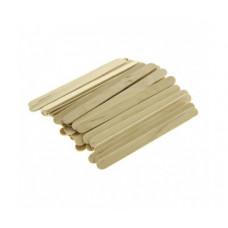 Шпатель деревянный (100 шт/уп.) узкий
