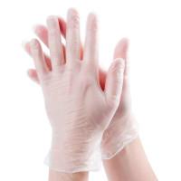 Перчатки виниловые неопудренные  Benovy (M-100шт/уп)