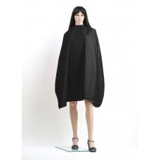 Professional Style Пеньюар из мягкой матовой ткани, с водоотталкивающей пропиткой, 125*145 см, черный