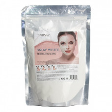 LINDSAY Альгинатная маска для лица Snow White Modeling Mask 240г