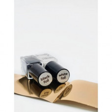 DOUBLE Краска для литья Black foil (черная), 5мл