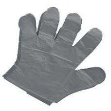 Перчатки ПЭТ 0,5гр (М-100 шт/уп) черные