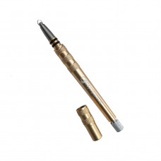 Gera Бритва-ручка с выдвигающимся стержнем, золотая