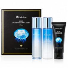 JMsolution Набор для ухода за лицом увлажняющий с экстрактом медузы Active jellyfish Vital 3set