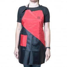"""Фартук TNL """"Hot Red"""" с карманом, красный, H-4"""