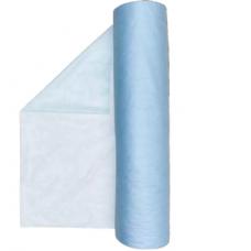 Простыня 70х200 20г/м2 голубая (100 шт/рулон)