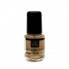 INM Голографическое покрытие для ногтей, золото, 3.5мл