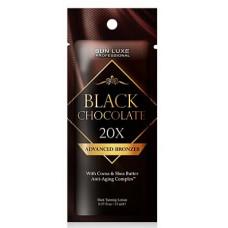 """SUN LUXE Крем для загара """"Black Chocolate 20х"""" для смуглой кожи, 15мл"""