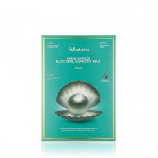 JMsolution Набор для сияния кожи 3 шага MARINE LUMINOUS BLACK PEARL BALANCING MASK Pearl, 30мл