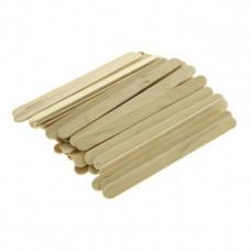 Шпатель деревянный (50 шт/уп.) узкий