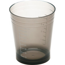 Dewal Мерный стакан 135мл черный