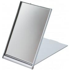 Dewal Зеркало косметическое серебристое складное (7,5 х 5 см)