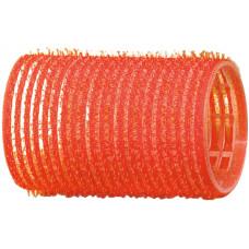 Dewal Бигуди-липучки красные d=36мм (12шт)