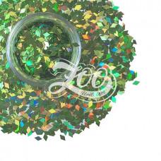 ZOO Nail Art Ромбики для дизайна светло-зеленые1152
